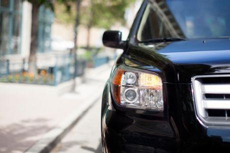 Pulido y lacado de faros delanteros para vehículo en Racing Motor Solutions (hasta 70% de descuento)