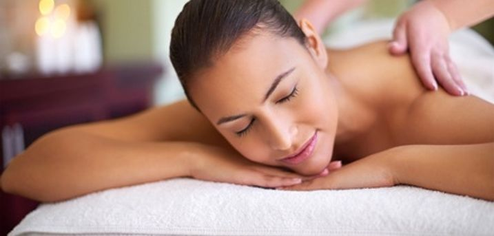 Neck, Back and Shoulder Massage or CND Shellac Gel with Manicure at Sweet Breeze