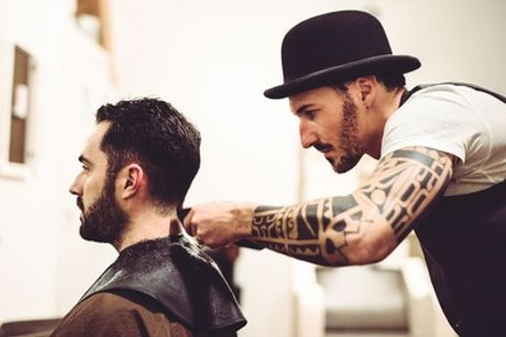 Men's Wash, Cut and Choice of Style or Hot Towel Shave at Jackie & Co