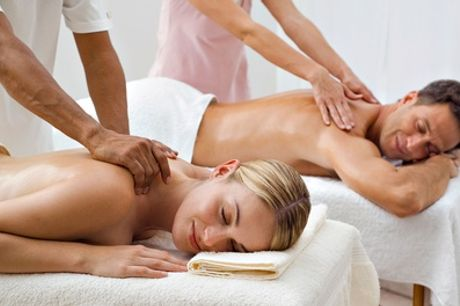 Candlelit Couples Massage with an Infrared Sauna Session and a 5ml Bottle of Essential Oil at The Beauty Rooms