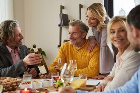 Weinprobe inkl. Magnumflasche Sekt für bis zu 8 Pers. zu Hause mit Pieroth Deutschland GmbH (bis zu 81% sparen*)