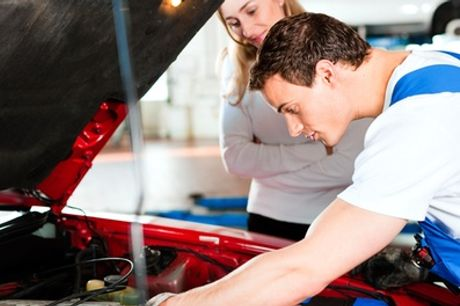 52-Point Car Service at Executive MOT Cardiff