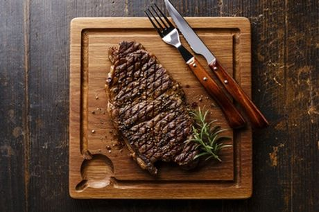 Choice of Steak, All You Can Eat Fries and Choice of Wine or Beer for One or Two at Gabeto