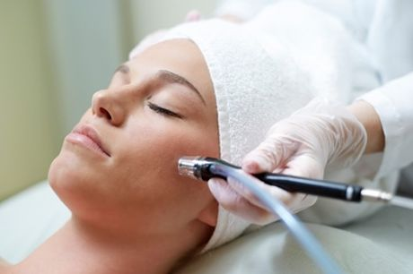 Microdermabrasion with Organic Facial and Collagen Mask