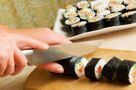 Sushi-Making Class for One or Two at The Smart School of Cookery