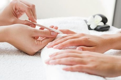 Gel Manicure or Pedicure, or Both at Alicia Chelsea Beauty