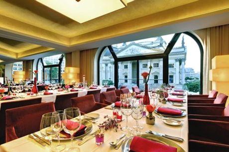 Sunday Lunch mit All-you-can-eat-&-drink-Buffet inkl. Sekt im Restaurant Beletage des Hilton Hotels
