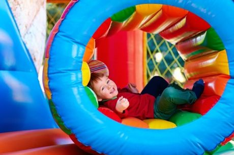 Soft Play Entry for Two or Four Children at Tubby Bears Play Zone