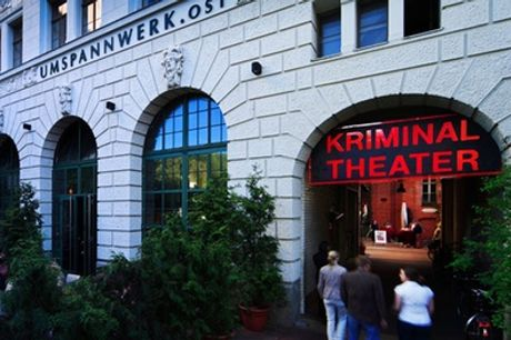 Ticket für eine Theater-Vorstellung nach Wahl im Oktober im Berliner Kriminal Theater (34%sparen)