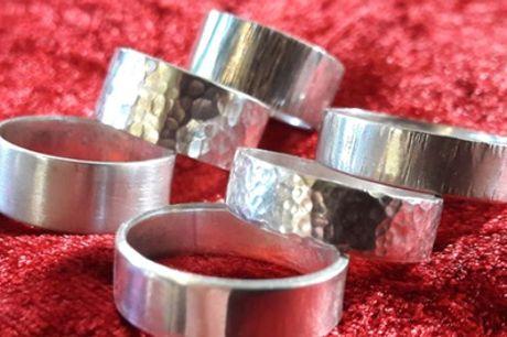 Workshops Zilveren ring maken bij Eventsbakery in Rotterdam, Ermelo en Nuenen
