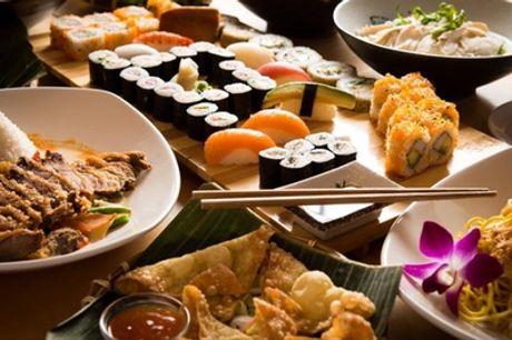 3-Gänge-Sushi-Menü für 2 oder 4 Personen im Thanh Restaurant (bis zu 44% sparen*)