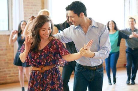 Five Ballroom and Latin Dance Classes for One or Two at La La Dance Studio