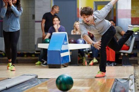 American Brunch und 1 Std. Bowling mit Leihschuhen für Sechs oder Zwölf im BOWLTREFF Recklinghausen (bis zu 61% sparen*)