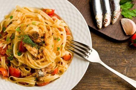 ⏰ Pranzo all you can eat a scelta tra carne o pesce per 2 o 4 persone al Tempio di Bacco. Prenota&Vai!