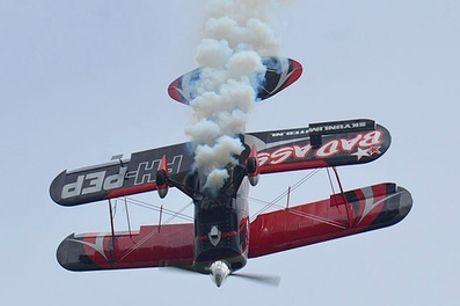 Lesvlucht stuntvliegen in een Pitts Special bij SKY unlimited vanaf Lelystad Airport