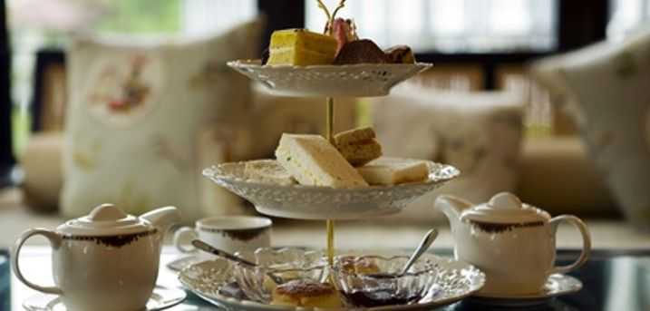 Traditional Afternoon Tea for Two or Four at Coffee Factory Diner