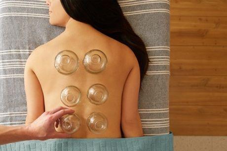 Cupping-ontspanningsmassages van 60 minuten bij Elina Beauty Clinic in hartje Zaandam