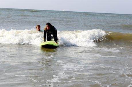 Zandvoort: een hele dag surfen inclusief 2 uur les bij Pepsports