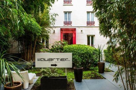 Paris : chambre double confort pour 2, option petit-déjeuner et verre de vin offert, à l'hôtel Le Quartier Bercy Square