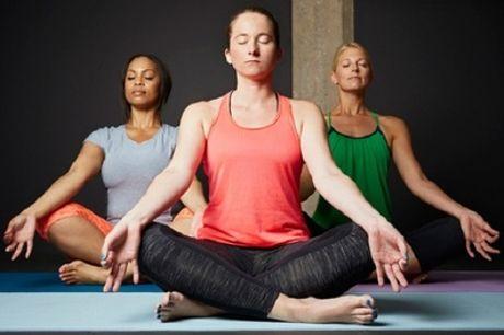1 of 2 maanden onbeperkt yoga voor 1 of 2 personen vanaf € 24,99 bij Creyda in Elsene