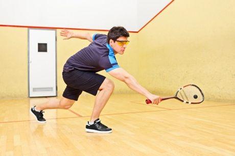 4 tot 10 keer squashen voor 2 personen, incl. huur materiaal bij Winner's Club in Brussel