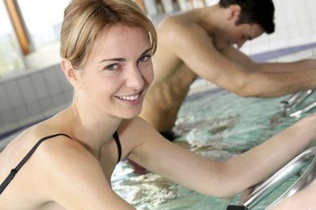 1, 3 ou 6 séances d'aquabiking avec Aqua Kin