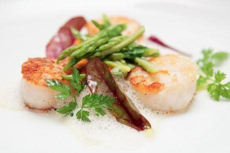 Gastronomisch 4-gangen seizoensmenu voor 2 of 4 personen bij restaurant Nanoo's