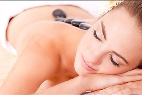 Oplev en skøn afstressende massage - til 1 eller til 2! - Hotstone massage hos Ny Liv Spa, vælg ml. 2 tilbud, værdi op til kr. 1700,-