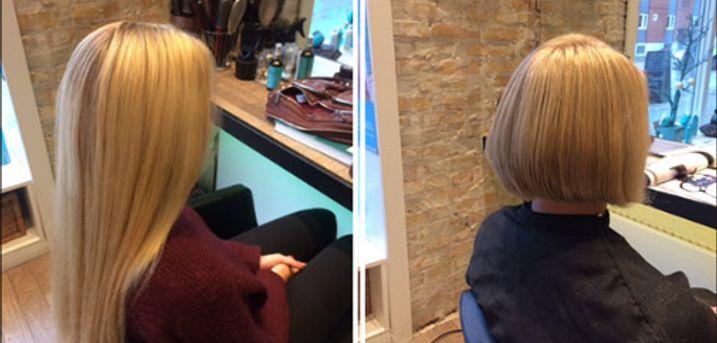 Servicemindet frisør på Østerbro! - Dameklip, lyse striber, hårkur m.m. hos Adrianashaar, værdi kr. 2340,-