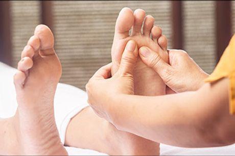 Meget effektiv behandlingsform, med hurtige og gode resultater! - 60 min. Zoneterapi hos ReGenerating KLINIK, værdi kr. 750,-