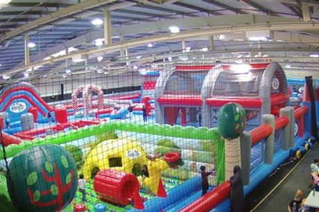 Inflatable Bounce or Combination Party for Ten with Optional Food at Inflatable Zone Birmingham