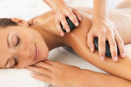30-Minute Back, Neck and Shoulder or 60-Minute Full-Body Hot Stone Massage at Chakra Bella
