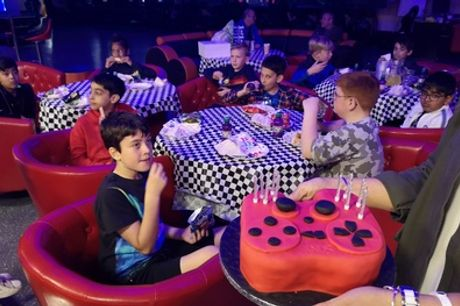 Weekday or Weekend Birthday Party for Up to Ten Kids at DSC Race Center