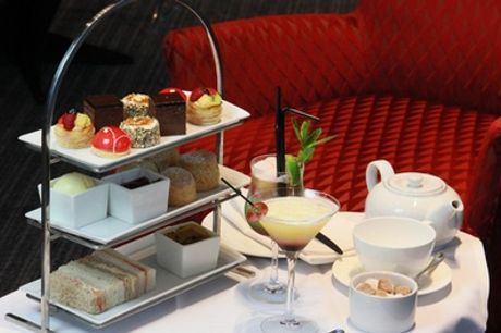 Traditional or Prosecco Afternoon Tea for Two at Clayton Hotel Birmingham (Up to 39% Off)