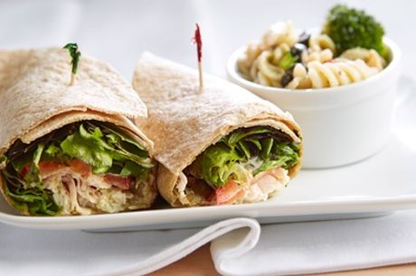 Wrap or Salad Box with Crisps and Hot or Cold Drink for Up to Four at Wrap Lab