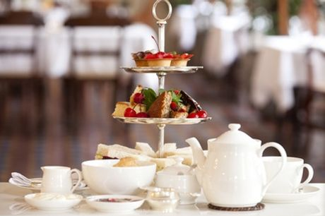 Afternoon Tea for Two with Optional Gin and Tonic or Glass of Prosecco for Two at The Feathers Hotel
