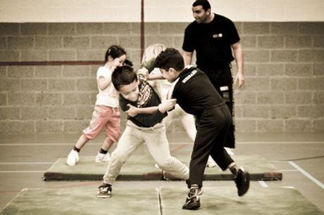 Kidz Krav Maga-cursussen bij Hartkamp Sports & Wellness