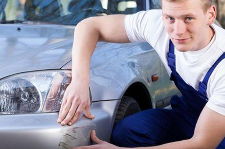 Redressage auto, réparation de rayure profonde, préparation et peinture à la Nouvelle Carrosserie de Tivoli