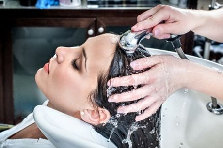Wash, Cut and Blow-Dry with Head Massage at Bailey & Jones Hair Salon