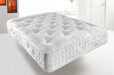 From £199 for a single, small double, double (£249) or king (£279) deluxe 3000 memory pocket sprung mattress from Mattress Haven - save up to 80%