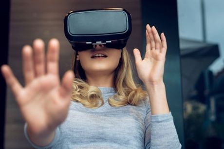55-Minute Virtual Reality Escape Room Experience for Two or Four at VR Experience Wales