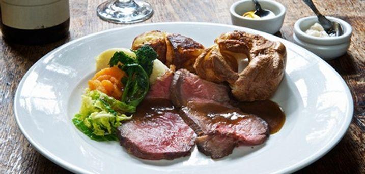 2- or 3-Course Sunday Roast with Optional Petit Fours or 4 at Cheltenham Regency Hotel