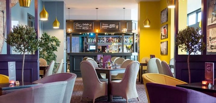 Two-Course Italian Meal with Barista Tea or Coffee for Two or Four at The Italian Cafe