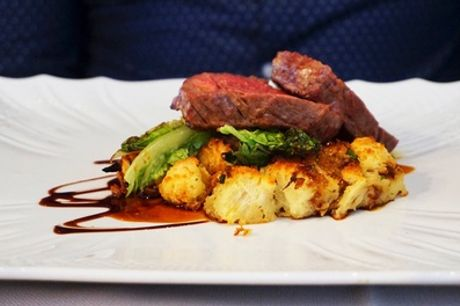 Two-Course Sunday Roast with Glass of Wine or Beer for Two or Four at Olde Castle Hotel (Up to 46% Off)