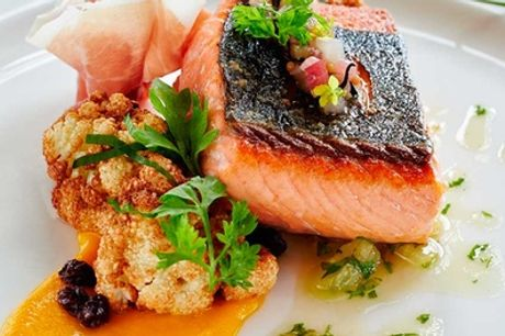 Two-Course Meal with a Glass of Wine or Beer for Two or Four at Cashmoor Inn