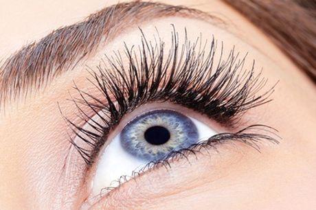Wimpernverlängerung mit bis zu 70 Seidenwimpern pro Auge, optional mit Refill, im cosmetics shop (bis zu 74% sparen*)