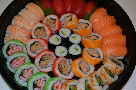 Afhaalsushiboxen met 40, 80 en 120 stuks sushi bij Sushi Clinic