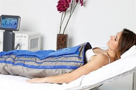5 Sessões de Pressoterapia na GET IT Clinic no Cacém por Apenas 49,90€! Faça um DETOX, Elimine a Celulite e Regule o Trânsito Intestinal!