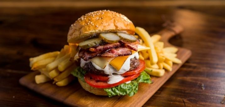 Three Tapas or Burger with Cocktails Each for Up to Six at The Gig House