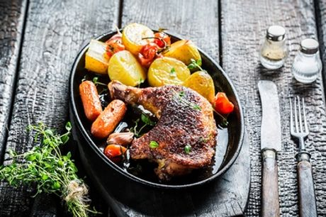 Sunday Roast with Drinks for Two or Four at Brook & Barter